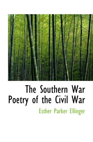 La poésie de guerre du sud de la guerre civile