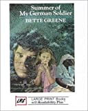 Summer of My German Soldier (Large Print Cornerstone Ser)