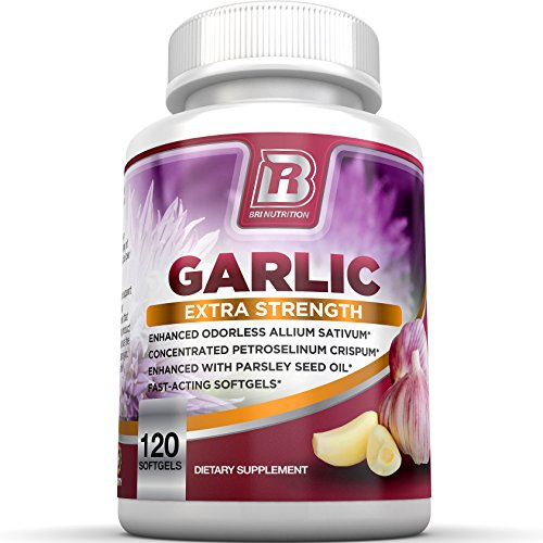 BRI-Nutrition-Odorless-Garlic-120-Softgels-1000mg-Pure-And-Potent-Garlic-Allium-Sativum-Supplement-Maximum-Strength-60-Day-Supply