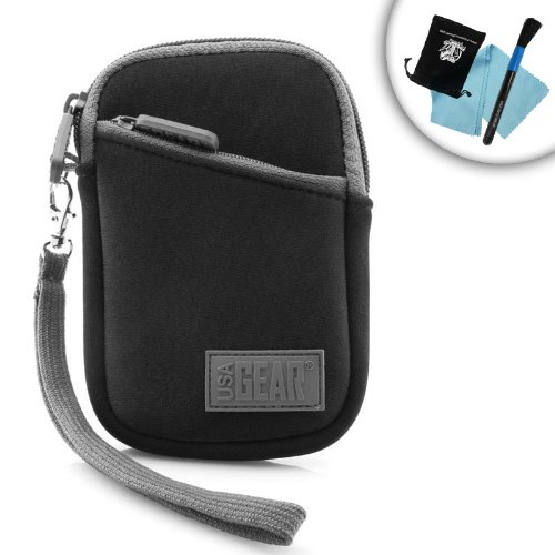 Big Save! Protective Neoprene Voice Recorder Case with Neoprene Cushion , Belt Loop & Carrying W...
