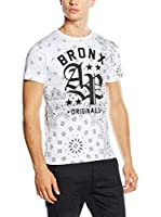 American People Camiseta Manga Corta Collins (Blanco)