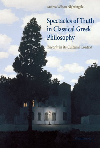 Spectacles of Truth in Classical Greek Philosophy: Theoria in its Cultural Context