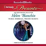 Public Marriage, Private Secrets | Helen Bianchin