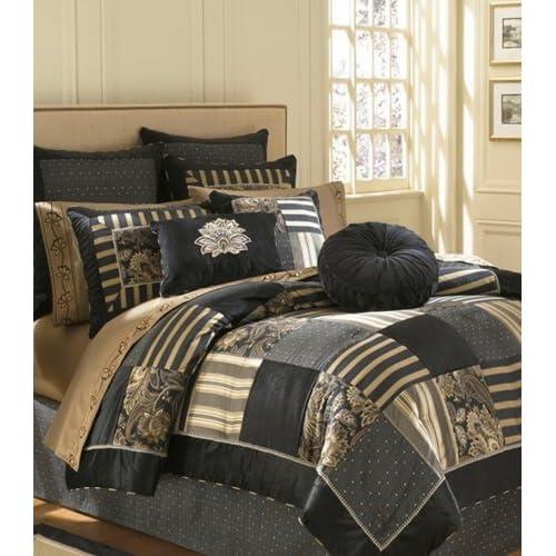 Black Gold Bedding Sets Black And Gold Bed Sets