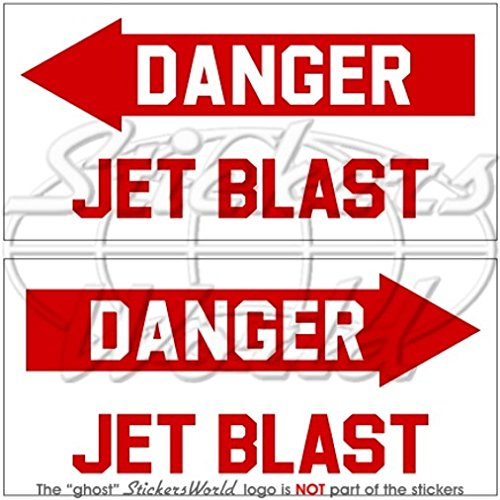 peligro-jet-blast-avion-helicoptero-usaf-3-75-mm-pegatinas-de-vinilo-calcomanias-x2
