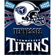 "Tennessee Titans Light Weight Fleece NFL Blanket (Shadow Series) (50x60"")"""