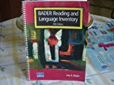 img - for Bader Reading & Language Inventory. 5th Edition By Lois A. Bader book / textbook / text book
