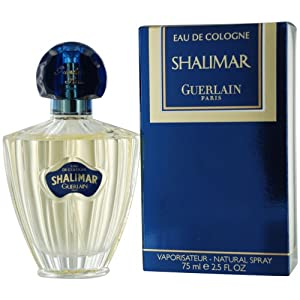 Shalimar By Guerlain For Women. Eau De Cologne Spray 2.5 Ounces