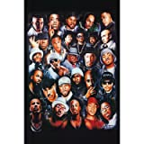 Rap Legends (Rapper Collage) Music Poster Print