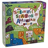 Scrambled States of America Game Card Game ~ Gamewright