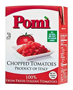 Pomi Chopped Tomatoes, 26.46 Ounce (Pack of 12)