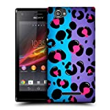 Head Case Leopard Nail Art Snap-on Back Case Cover For Sony Xperia M C1905 C1904