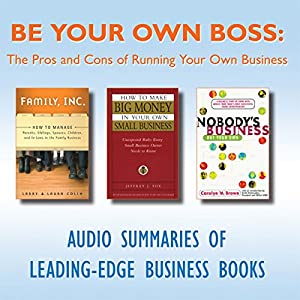 Be Your Own Boss Audiobook