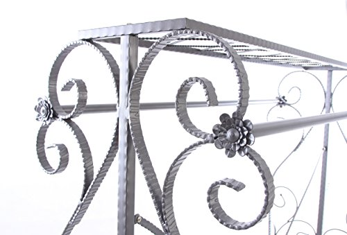 Decorative Grey Steel Iron Garment Coat Rack (Y009D) 4