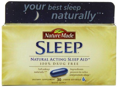 凑单品:Nature Made 纯天然助眠胶囊