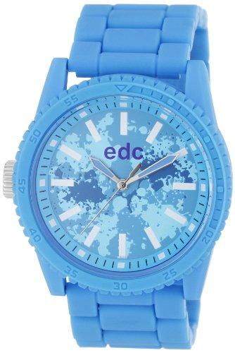 Esprit Esprit A.Ee100482003 - Reloj de mujer de cuarzo, correa de plástico color azul claro