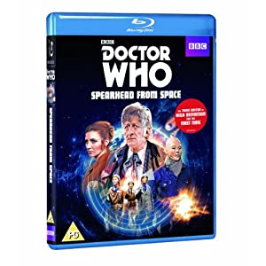 Doctor Who-Spearhead From Space [Blu-ray] [Import anglais]