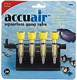 JW Pet Company Accuair 4-Way Aquarium Gang Valve