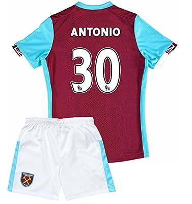 West Ham United 2016 2017 New Season Kids 30 MICHAIL ANTONIO Home Soccer Jersey