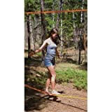 Brand 44 Slackers 50' Slackline Classic Set with Bonus Teaching Line (Colors may vary)