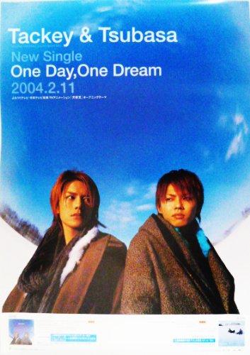 ポスター ★ タッキー&翼 2004 シングルCD 「One Day, One Dream」 宣伝 B2 ※イタミあり