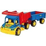 Wader - 2078252 - Gigant Camion Avec Charrette À Bras
