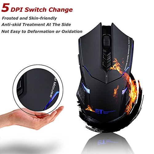 Leadrise-24G-Wireless-Gaming-Mouse-800-1200-1600-2000-2400-DPI-Frosted-effect-s-7-Buttons-USB-Receiver-for-PC-Laptop