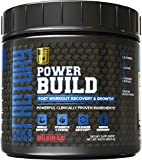 POWERBUILD Clinically-Dosed Post Workout Recovery & Muscle Building Supplement - Boost Muscle Growth, Recovery, & Strength - Creatine, Glutamine, & 5 More Powerful Ingredients - Mixed Berry Blast, 483.6g