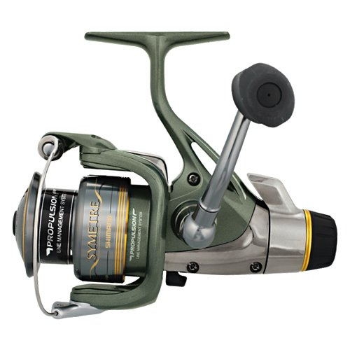 Shimano Symetre RJ Spinning Reel (6.2:1), Medium, 8 Pounds/140 Yards