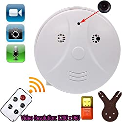 Boriyuan Free Winder + 1280 X 960 High quality Smoke alarm camera Office hidden monitoring recorder SPY Camera DVR from boriyuan leather co.,ltd