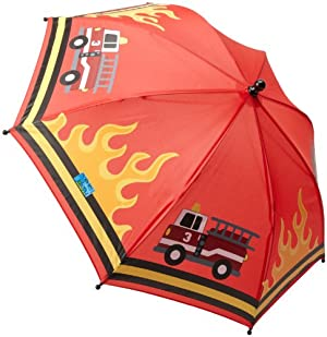 Stephen Joseph Little Boys' Umbrella, Firetruck, One Size