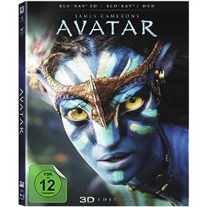 BD * Avatar - 3D Combopack [Blu-ray] [Import allemand]