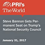 Steve Bannon Gets Permanent Seat on Trump's National Security Council | Agence France-Presse