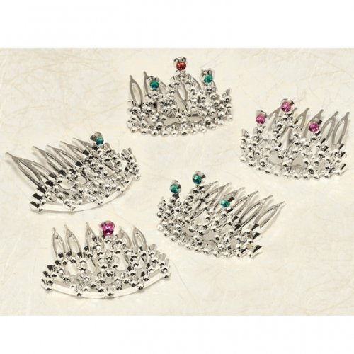 LOOSE FAVOR MINI TIARAS 1 COUNT