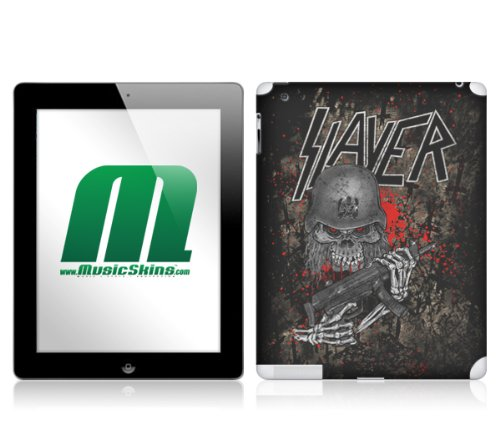 MusicSkins - Cover adesiva Slayer - Murder Is My Future, per iPad 2