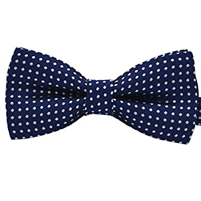Amajiji Fashion Colorful Polka Dots Pre-Tied Bow Ties for Pet Dog Cat