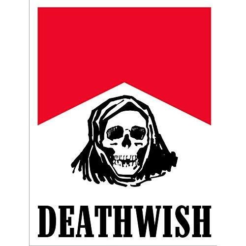 Deathwish Flavour Country DECAL - Single (Deathwish Boards compare prices)