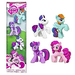 My Little Pony HUB Friendship Is Magic - 4-pack Ponyville