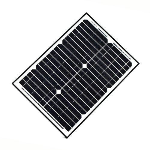 Aleko® Lm109 Solar Panel For Gate Opener 20W 24V