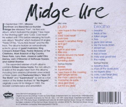 Midge Ure Breathe Pure Breathe by Midge Ure