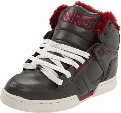Osiris Shoes Men's NYC83 Shr BNG/Burgundy/Sherling Trainer 1239-1522 8 UK