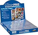 Toy - Ultra Pro 150122 - Silver Series Pages 9-Pocket, Sammelkartenzubeh�r