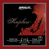 Kaplan Solutions カプラン ソリューション ビオラ弦A線 KS411 LM D'Addario Kaplan Solutions Viola A Long Medium