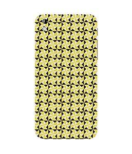 Yellow Triangles HTC Desire 816 Case