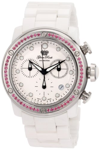 Glam Rock Mujer GR50121 Aqua Rock cron-grafo White Dial Ceramic Reloj