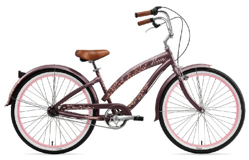 Nirve Cherry Blossom Ladies 3 speed Bicycle (Mocha)