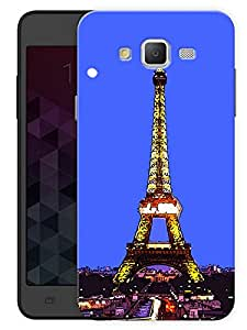"Humor Gang Paris Eiffel Tower View Printed Designer Mobile Back Cover For ""Samsung Galaxy J5"" (3D, Matte, Premium Quality Snap On Case)"