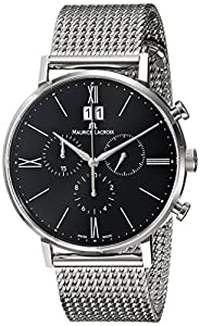Maurice Lacroix Men's EL1088-SS002-310 Eliros Analog Display Analog Quartz Silver Watch