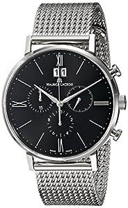 Maurice Lacroix Men's EL1088-SS002-310 Eliros Analog Display Analog Quartz Silver Watch