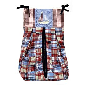 Nautica Baby Skipper Diaper Stacker